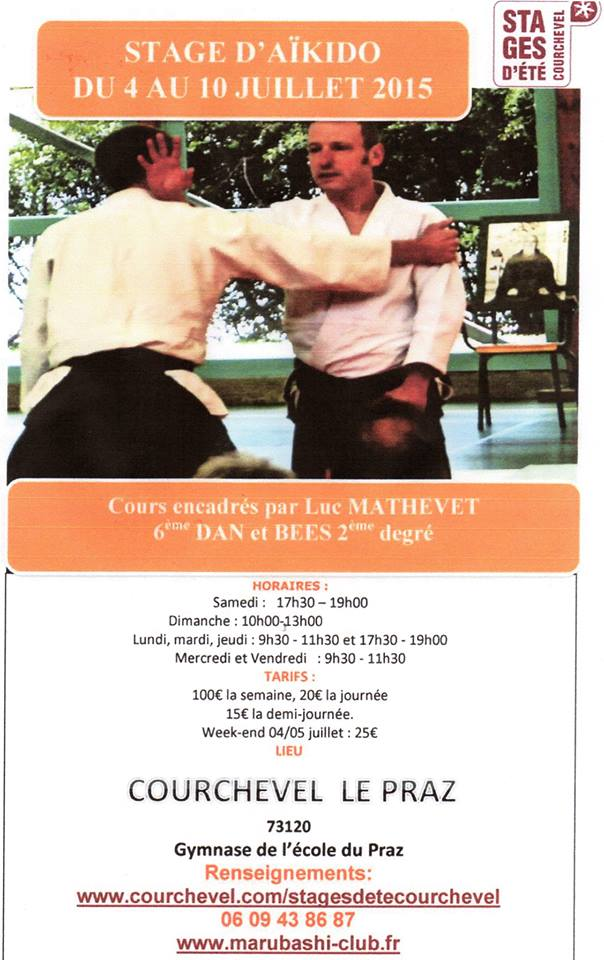 stage Aikido Courchevel