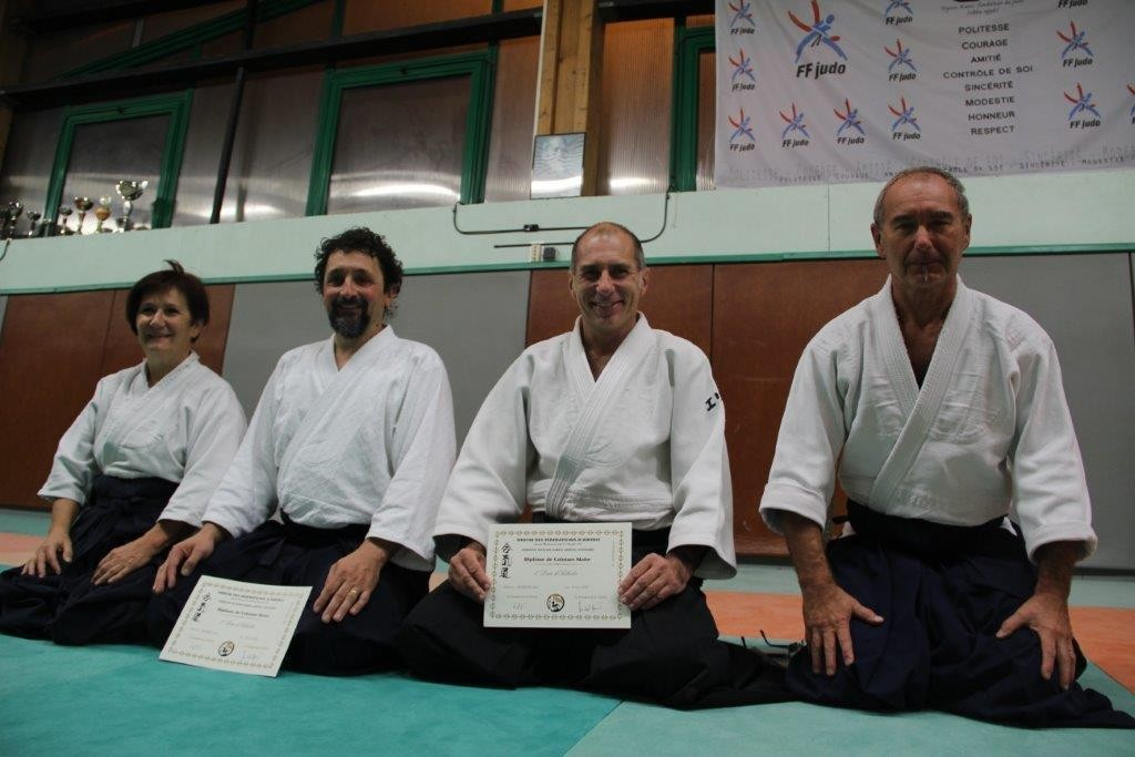 Remise grades Aikido