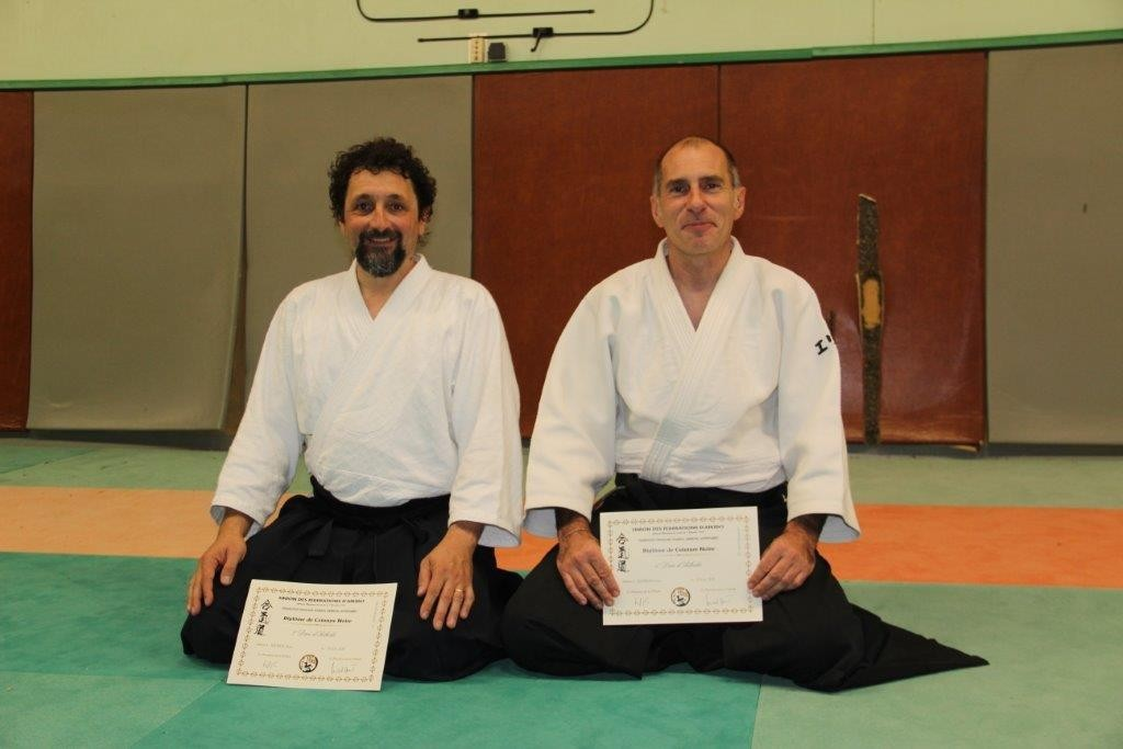 Remise grades Aikido 2