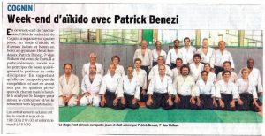 Patrick Benezi à cognin