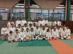 stage aikido cognin debutant