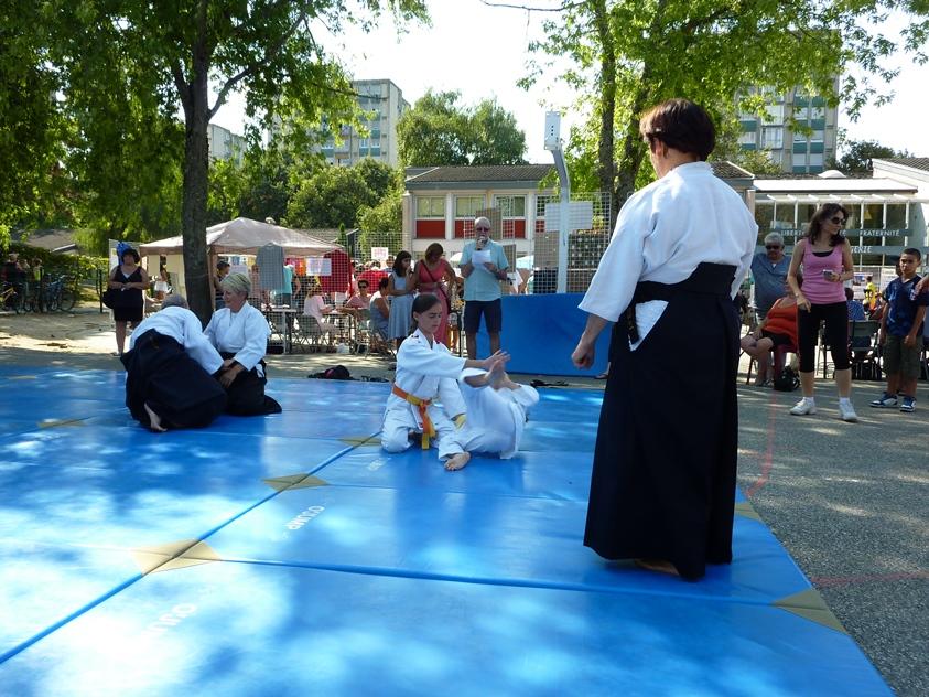 Forum des associations Cognin Aikido 2016 (2)