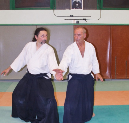 Daniel Legros et Alain Webber